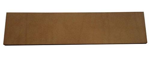 scherenkauf XXL Lederabziehriemen Natur, unbehandelt, Abziehleder 30cm x 7cm (Leder Natur)