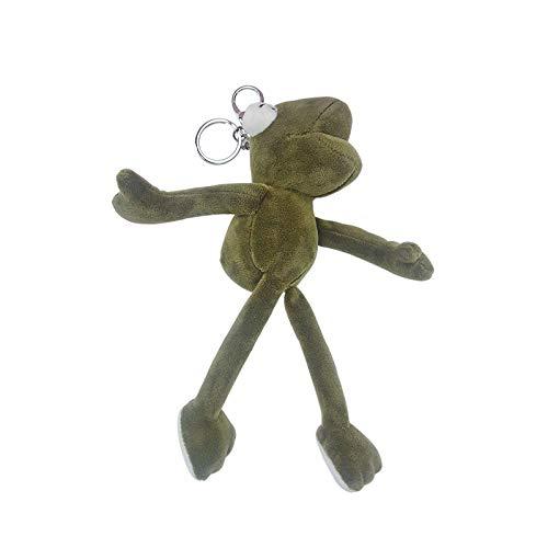 Lange benen kikker knuffel Doll sleutelhanger hanger
