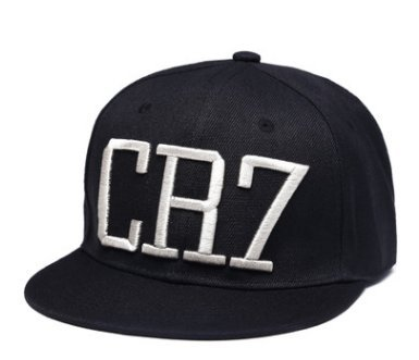 Cristiano Ronaldo CR7 Real Madrid Footbal Hat Soccer Baseball Snapback Caps(B)