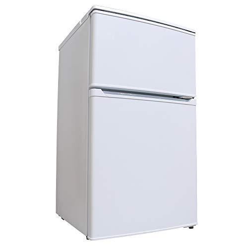 アイリスオーヤマ 冷蔵庫 90L 2ドア 直冷式 冷凍冷蔵庫 IRR-A09TW-W