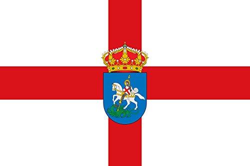 magFlags Bandera Large Municipio de Puentedura Castilla y León | Bandera Paisaje | 1.35m² | 90x150cm
