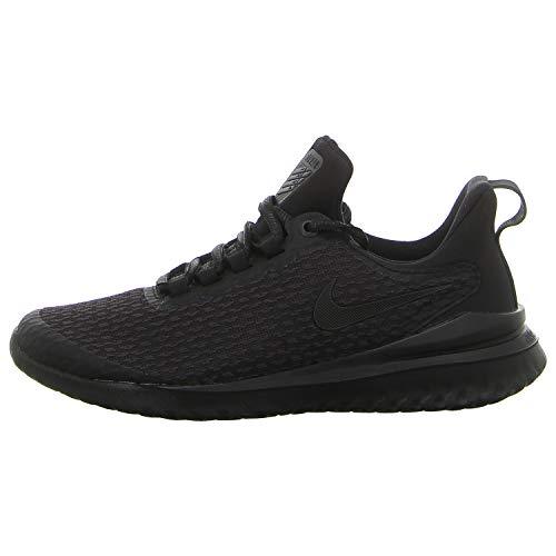 Nike Damen Wrenew Rival Sneakers, Mehrfarbig (Oil Grey/Black 001), 39 EU