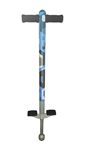 Pogo Stick for Kids - Aero Advantage - for Kids 5,6,7,8,9,10 Years Old & Up to 90lbs (36kgs) - Awesome Fun Quality Pogo Stick for Boys & Girls by ThinkGizmos (Blue & Black)