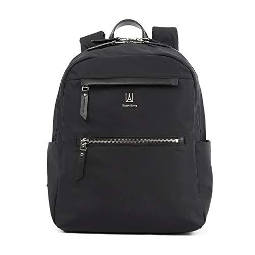 Travelpro Women's Platinum Elite-Backpack, Black, One Size