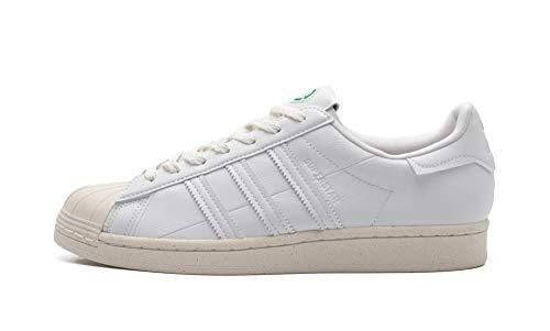 ADIDAS SUPERSTAR Herenschoenen sneakers van wit leer FW2292
