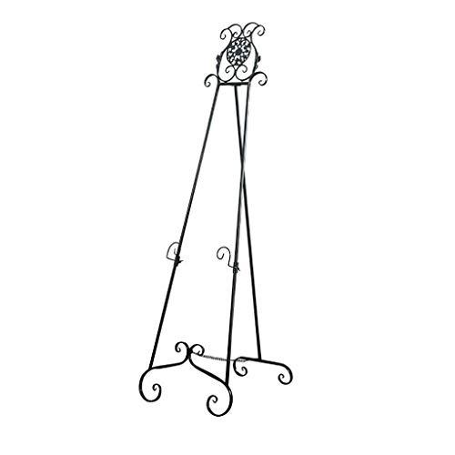 Caballete pintura Soporte de baldosas de altura, soporte de pintura ajustable, soporte de baldosas ajustable de altura, soporte de bienvenida de pisos, soporte de pintura al óleo de hierro for