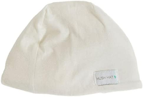 Hush Baby Hat with Softsound Technology and Medical Grade Sound Absorbing Foam Pearl Natural product image