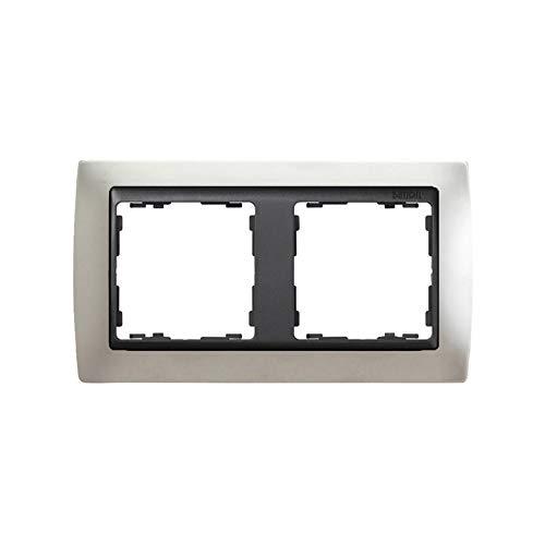 Simon - 82824-33 marco 2elem s-82 grafito metal noble alu mate Ref. 6558233160