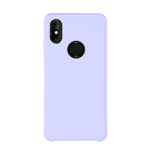 Funda Compatible con Xiaomi Mi A2 Lite Redmi 6 Pro Carcasa Silicona Ultra Delgado Anti-Golpes Rasguño y Resistente Choque Protector Funda per Mi A2 Lite (Xiaomi Mi A2 Lite/Redmi 6 Pro, Lila Lila)