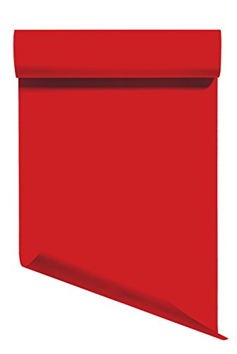 Heat Transfer Vinyl HTV/Iron-on 12 Inches by 10 Feet Roll (Red)