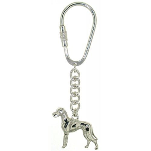 Derby Schlüsselanhänger Dogge Hunderasse massiv echt Silber 29026