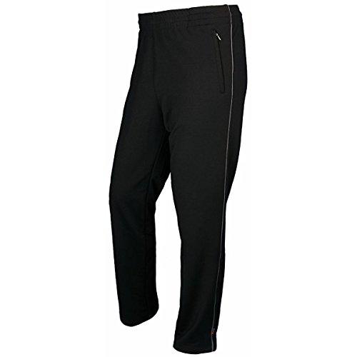 Schneider Sportswear Herren KANSASM-Hose, schwarz (Stahl), 24