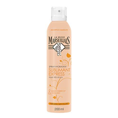 Il piccolo marsigliese Spray Nutrizione Express pelle molto secca olio Albicocca Giglio 200ml
