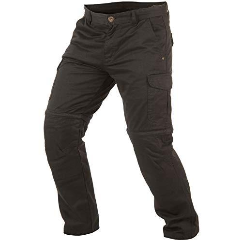 Trilobite 1864 Pantalones Dobles para Hombre 2 en 1 Talla 40 US Negro