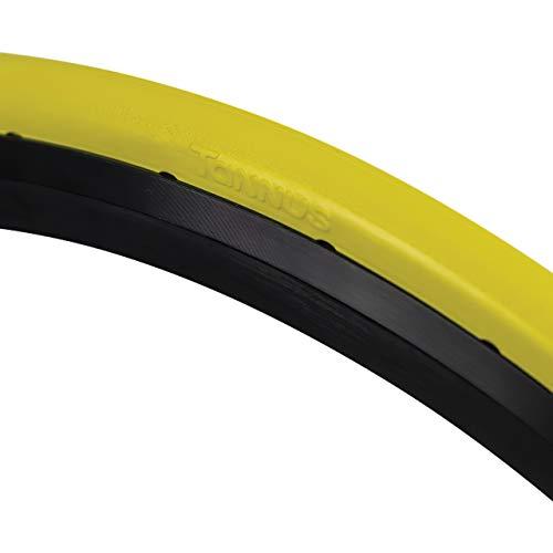 Tannus Cubierta 700x23c Slick | Neumático Antipinchazos Bici Carretera, Lemon, Regular