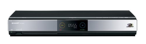 シャープ 500GB 2チューナー ブルーレイレコーダー AQUOS BD-HDW55