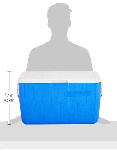 Product Image 2: Coleman Performance Cooler, 48-Quart – Blue