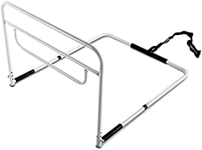 RMS Single Hand Bed Rail - Adjustable Height Bed Assist Rail, Bed Side Hand Rail - Fits King, Queen, Full & Twin Beds (Sin...