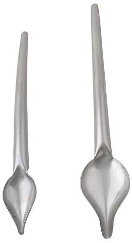 2PCS DIY Stainless Steel Drizzle Spoon