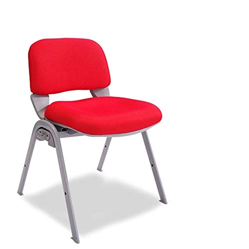 Lpinvin Trainingsstuhl Ergonomischer minimalistischer Trainingsstuhl Faltbare Konferenztraining Personalstuhl mit Schreibvorstand Mesh Zurück Kissen Tragbarer Trainingsstuhl