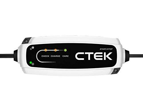 CTEK CT5 Start/Stop 40-106 - Cargador de batería inteligente