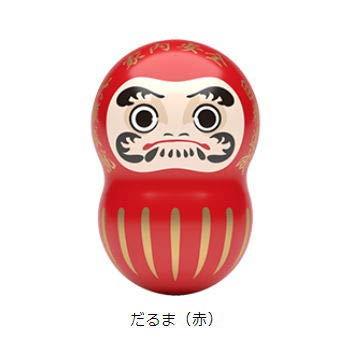 COO'NUTS JAPAN (クーナッツ ジャパン) [2.だるま(赤)](単品)※お菓子は付属しません。