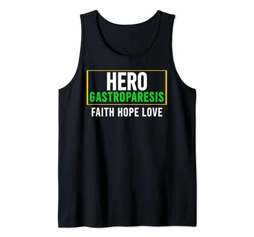Camisa de conciencia gastroparesia - Héroe de conciencia de la gastroparesia Camiseta sin Mangas