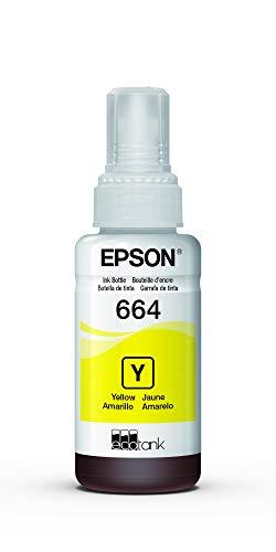 Garrafa de Tinta Original Epson EcoTank 664 Amarelo - T664420