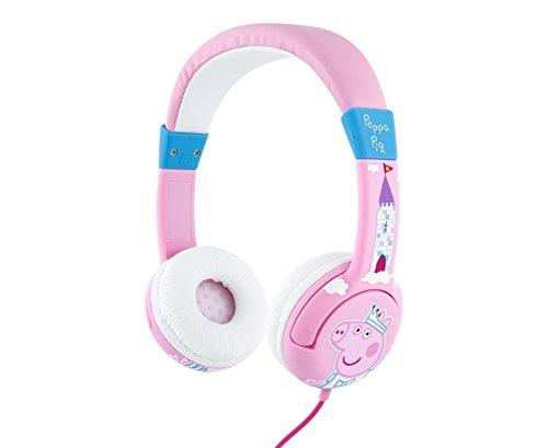 OTL Technologies PP0417D Junior Headphone Princess Peppa Pig Headphones–Pink/Red