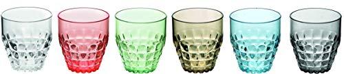 Fratelli Guzzini 22570252 vaso de agua Multicolor 6 pieza(s)