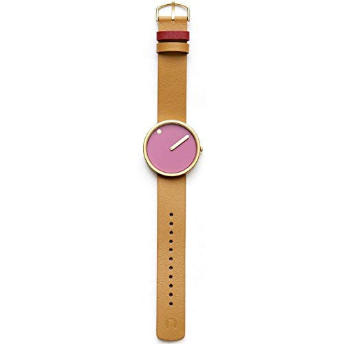 Rosendahl Watch - PICTO Leather - Pink/Tan