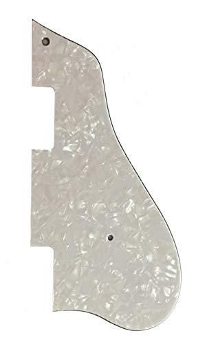 Golpeador de guitarra personalizado para Epiphone Casino Jazz Archtop Style, Perla blanca de 4 capas.