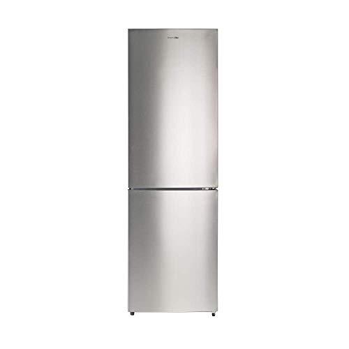 UNIVERSALBLUE | Frigorífico Combi 185 cm | Color INOX | Capacidad Total 320L | Sistema No Frost | Congelador | Vegan & Fresh Box | Eficiencia energética A+