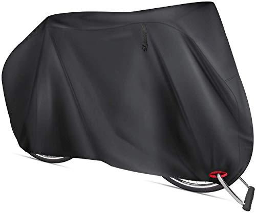AngLink Fahrradabdeckung Wasserdicht 210D Oxford-Gewebe 200 x 110 x 70 cm Fahrrad Schutzhülle UV Schutz Regenschutz Atmungsaktiv Fahrradgarage Plane für Mountainbike Rennrad E-Bike