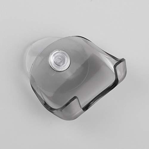 FHJZXDGHNXFGH Porte-Rasoir de Salle de Bain en Plastique écologique Super Suction Cup Razor Holder Support de Rasoir à Ventouse Rasoir Rack de Rasage