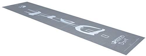 Best Sporting Dart-Teppich, 40 x 250 cm, dunkelgrau mit Aufdruck