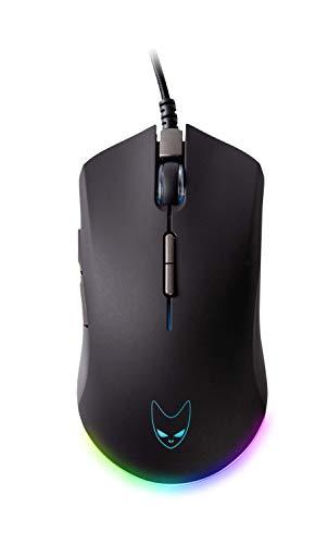 Oversteel RADIUM - RGB Gaming-Maus, 7 programmierbare Tasten, 10000 DPI