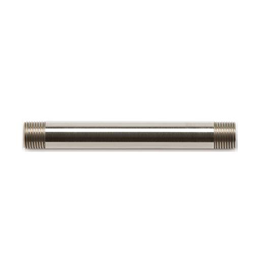 Moen 116651BN 6-Inch Straight Replacement Shower Extension, Brushed Nickel