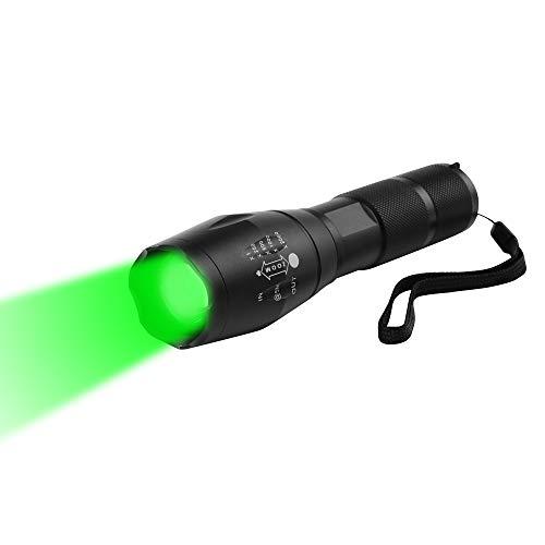 Linternas Potentes Para Caza Verde linternas potentes para caza  Marca WESLITE