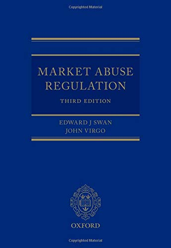 Swan, E: Market Abuse Regulation