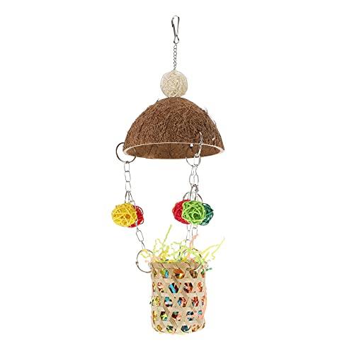 iplusmile Vogel accessoire creatieve vogel kauwen speelgoed huisdier papegaai spelen decoratieve vogelkooi opknoping…