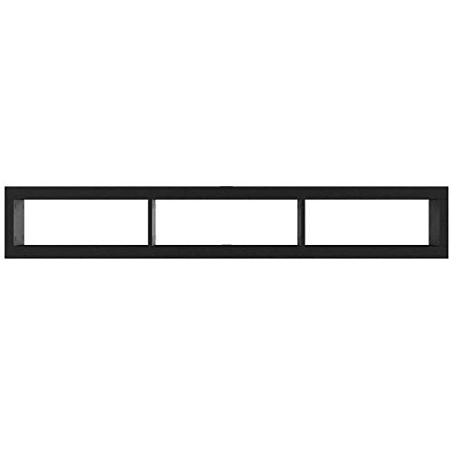 """Floating TV Stand Console 60"""" Wall Mount Shelf Mounted Entertainment Center with Storage Unit Modern Media Console for The Living Room Contemporary for Flat Screens Black & eBook by NAKSHOP"""
