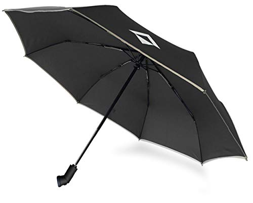 RFLECT LED Flashlight Compact Umbrella Automatic and 3 Folding (Black)