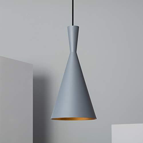 LEDKIA LIGHTING Lámpara Colgante Lennon Gris