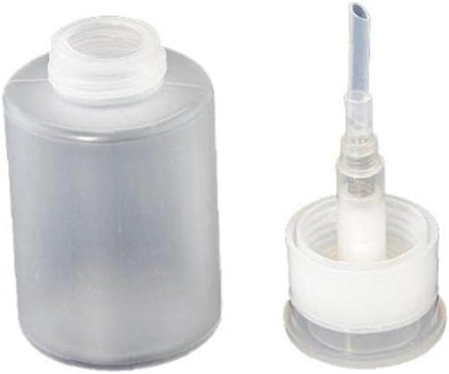 Transparent Bottle Now free shipping 150ml Nail Art Albuquerque Mall Pump Polish Plastic Makeup Dis