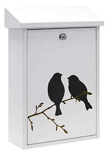Arregui Premium E5601-BIR Cassette Postale, Bianco, Tamaño M (DIN A4) - 40 x 27 x 11cm