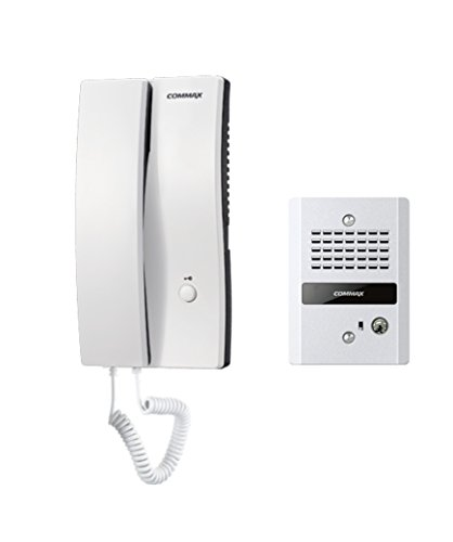 Interfón Commax Audio Portero auricular y frente de calle con apertura de chapa - DP2SDR2GN
