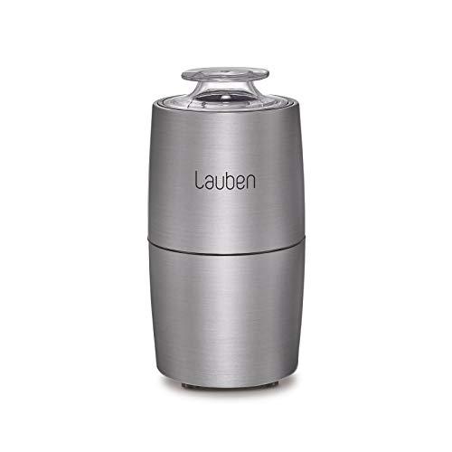 Lauben Grinder 200ST Elektrische Kaffeemühle, 200 W, Schlagmesser, Fassungsvermögen 50 g, Vollkupfermotor, Mahlbehälter und Messer aus #304 Edelstahl