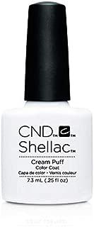 CND SHELLAC CREAM PUFF 0.25 oz