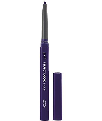 p2 cosmetics Perfect Look Kajal Waterproof 250, 3er Pack (3 x 3 g)